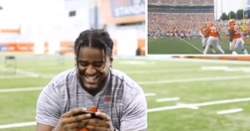 WATCH: Tigers react to Clemson home opener, TD celebrations