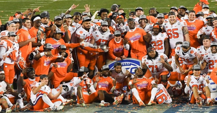 Clemson excelled off the field as well. (ACC photo)