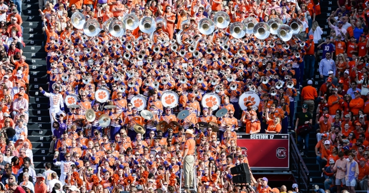 Tiger Band won't perform on the field this season