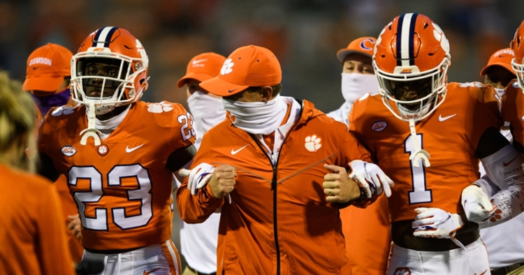 Clemson's depth at cornerback means playing time down the roster. (ACC photo)
