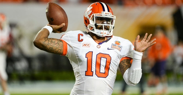 Tajh Boyd trying to help out during this difficult time