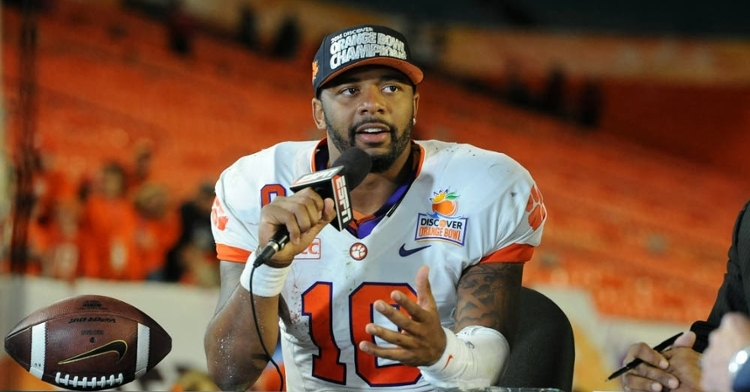 Boyd's career as Clemson's starting QB was bookmarked by Orange Bowl trips, finishing on a high note against Ohio State.