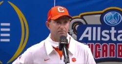 Tigers go the route of the Buckeyes, mad at Clemson for loss in Playoff