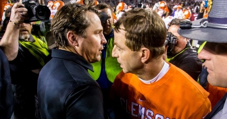 Muschamp finished 0-4 against the Tigers.