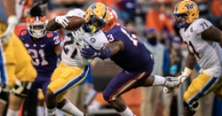 Venables pleased with defensive line, wants them to win 1-on-1 battles