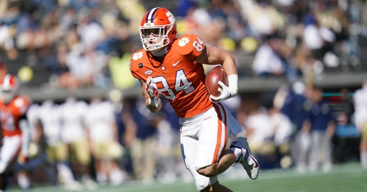 Davis Allen continues to impress as a receiver and a blocker. (ACC photo)