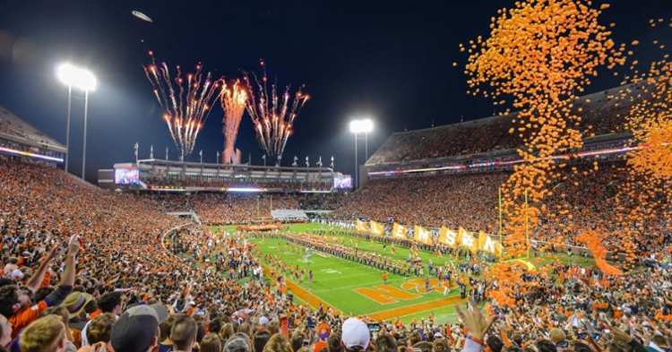 Hopefully Death Valley will be at capacity next season.