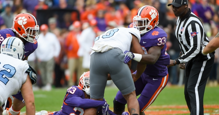 Clemson defense preparing for Bulldog option attack