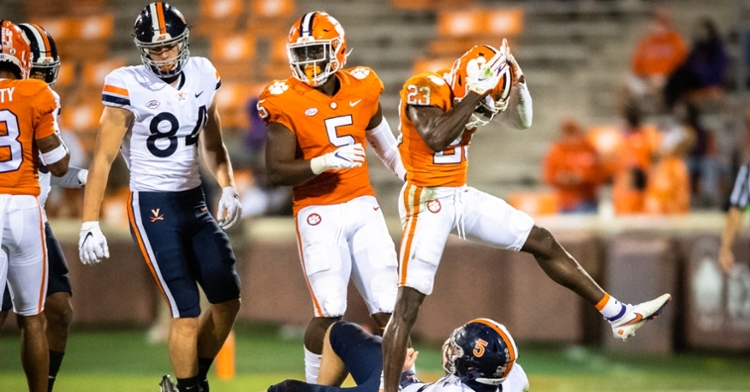 Postgame notes for Clemson-Virginia