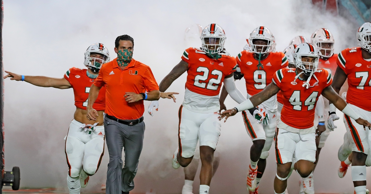 Miami Head Coach Says This Isn T A Big Game For Clemson Tigernet