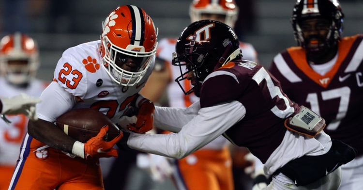 Dixon had some impressive runs against VT (ACC Photo)