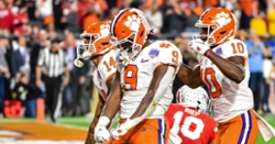 Swinney compares Travis Etienne to NFL legend Walter Payton