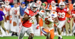 Several Clemson players including Travis Etienne out during Saturday's scrimmage