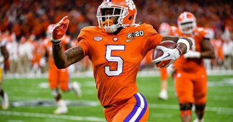 Clemson leads in 2020 National Championship odds