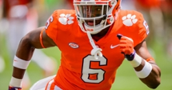 Clemson announces players out for Notre Dame game