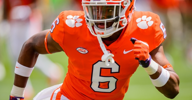 Clemson announces players out for Boston College game