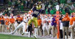 Monday Interviews: Venables, Elliott and players on rematch with Notre Dame