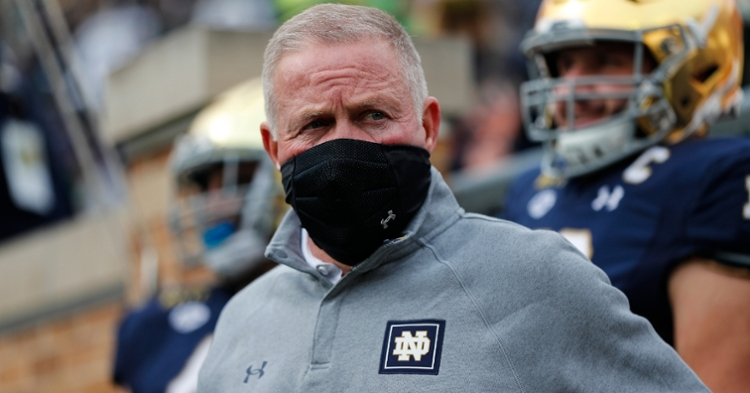 Brian Kelly says Clemson is the complete package. (Photo courtesy ACC)