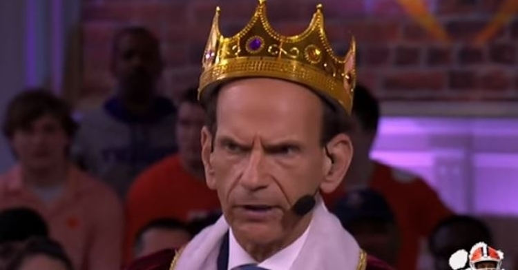 King Finebaum is going with the SEC Tigers in the title game