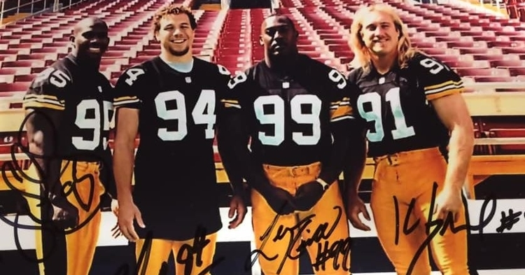 Kirkland (99) was part of an elite group of linebackers in Pittsburgh