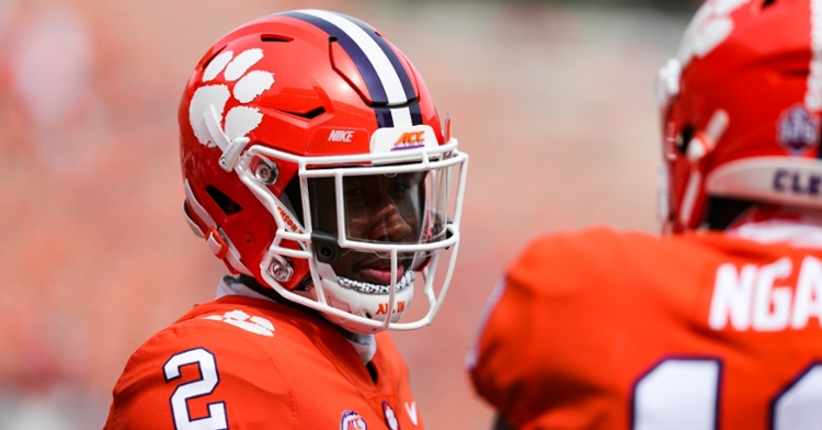 Frank Ladson and Joseph Ngata will be ones to watch for the Clemson offense in 2021.