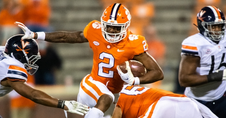 Ladson played a career-high in snaps and saw seven targets. (ACC photo)