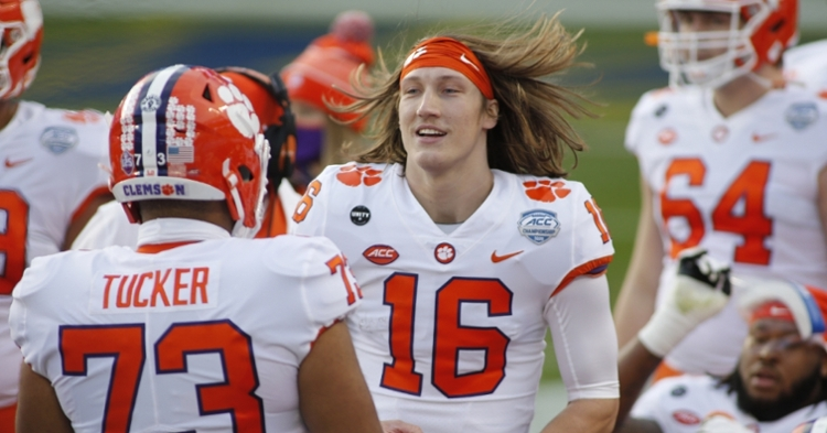 Trevor Lawrence had another Heisman-worthy performance (ACC photo)