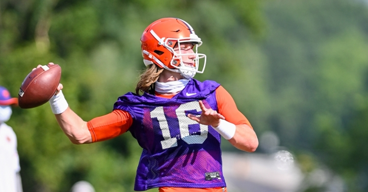 Lawrence wants to play in 2020. (Photo courtesy Clemson athletics)