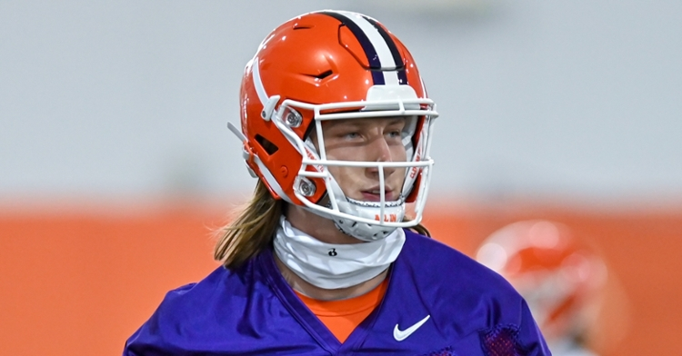 Trevor Lawrence ruled out for Notre Dame game