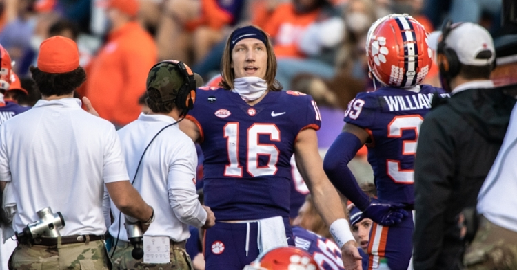 Lawrence threw for over 400 yards in what might be his last start in Death Valley. (Photo courtesy ACC)