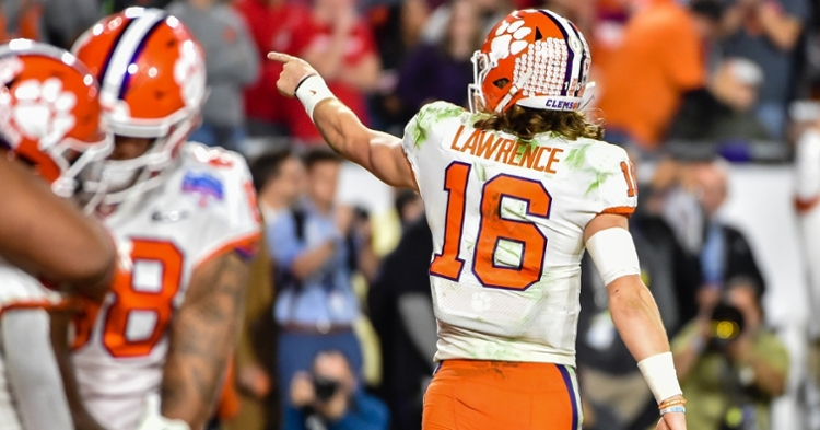 Whitehurst says Lawrence has the talent to do it all.