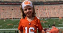 LOOK: 4-year-old Trevor Lawrence 2.0 makes an appearance at Death Valley