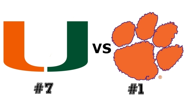 The Tigers and Canes face off at 7:30 pm Saturday.