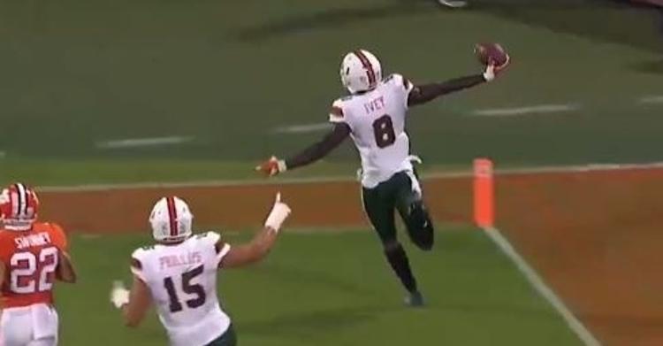 Miami got some momentum going into the half