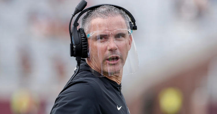 Mike Norvell tested positive for COVID-19 earlier in the year