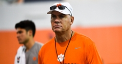 Clemson assistant coach issues statement regarding use of racial slur