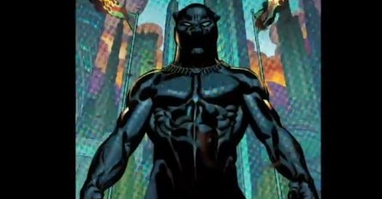 This is the Black Panther from the Marvel Universe