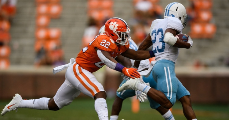 Trenton Simpson is expected to move into a starting role (ACC photo).