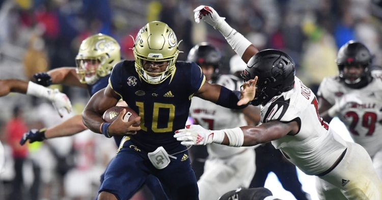 Sims is a big part of Georgia Tech's offensive success (Photo courtesy ACC)