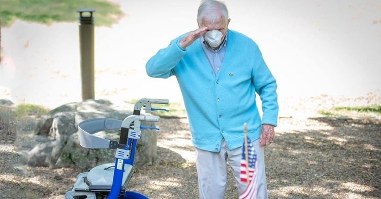 A Clemson Memorial Day: Our hero salutes his heroes