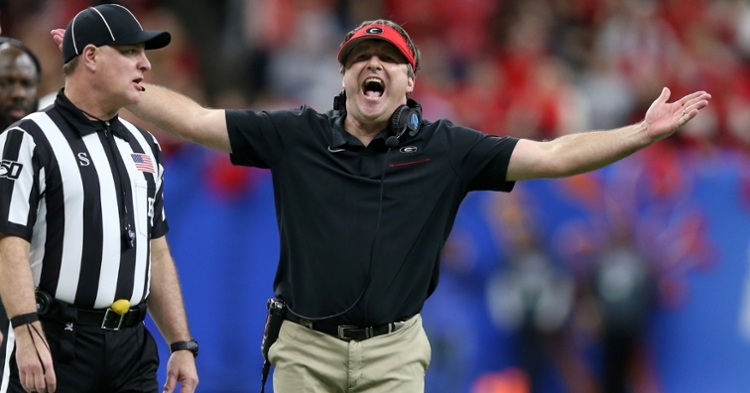 Kirby Smart doesn't think teams are playing fair in recruiting (Chuck Cook - USA Today Sports)