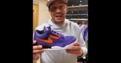 WATCH: Tony Elliott shows off his incredible Air Jordan collection