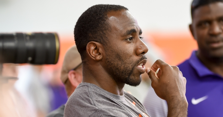 Spiller will be inducted into the Clemson Hall of Fame this fall.