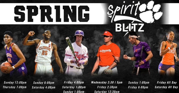 Clemson fans and alumni are encouraged to go to these sporting events