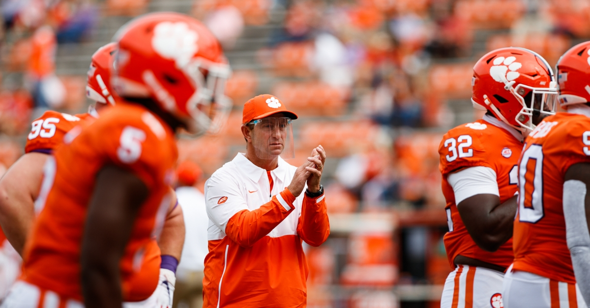 Usa Today Finds Dabo Swinney With Third Highest Coach Salary Tigernet