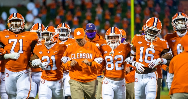 Clemson returns to the road next week for the first time since the opener on Sept. 12. (ACC Photo)