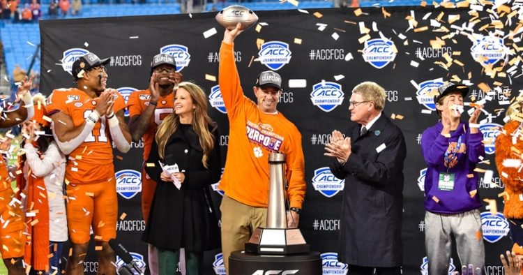 Swinney and Co. have collected a ton of hardware in the last decade