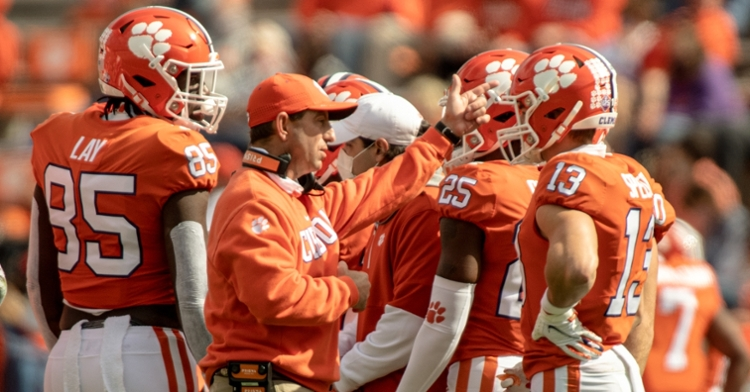 Swinney and the Tigers will hope to rebound after the loss to NC State