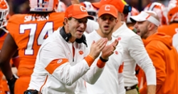 WATCH: Emotional Dabo Swinney speaks about last decade at football reunion