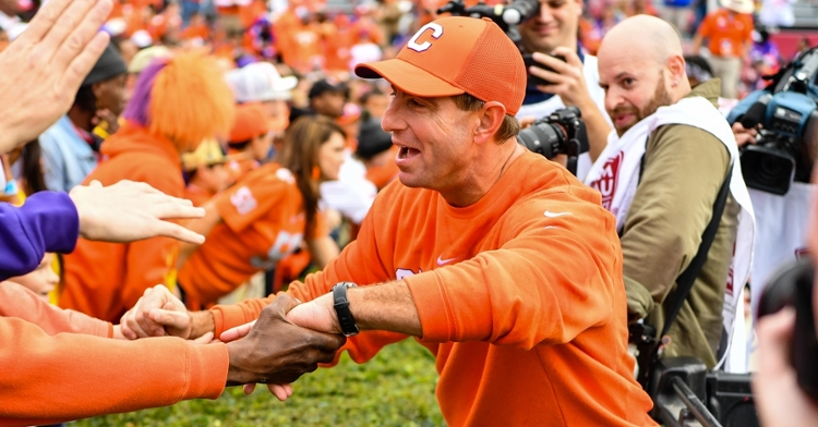 """Swinney said of the allegations in the last week was """"absolutely false."""""""